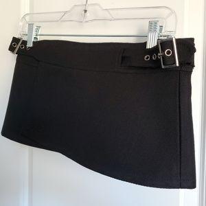 """Extreme Mini Wrap Skirt 8.5"""""""